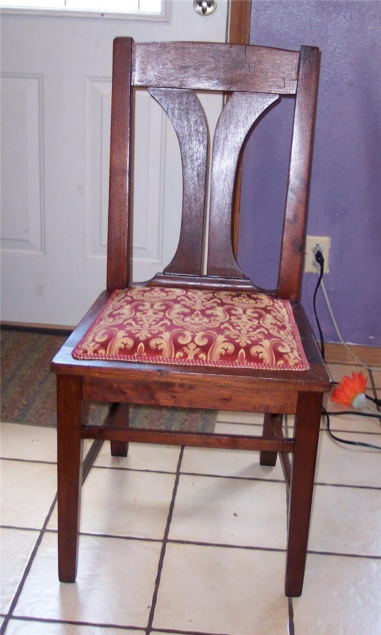 Mahogany Desk Chair or Sidechair