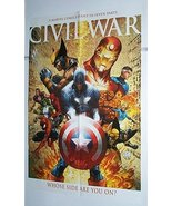 Captain America Civil War poster:Avengers/Iron Man/Spider-man/Fantastic ... - $40.00