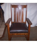 Oak & Elm Mission Rocker/Rocking Chair - $531.15