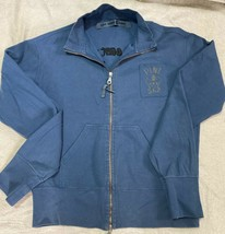 BEAUTIFUL ONE-OFF SUMMERWEIGHT FULL ZIP FLEECE - $50.95