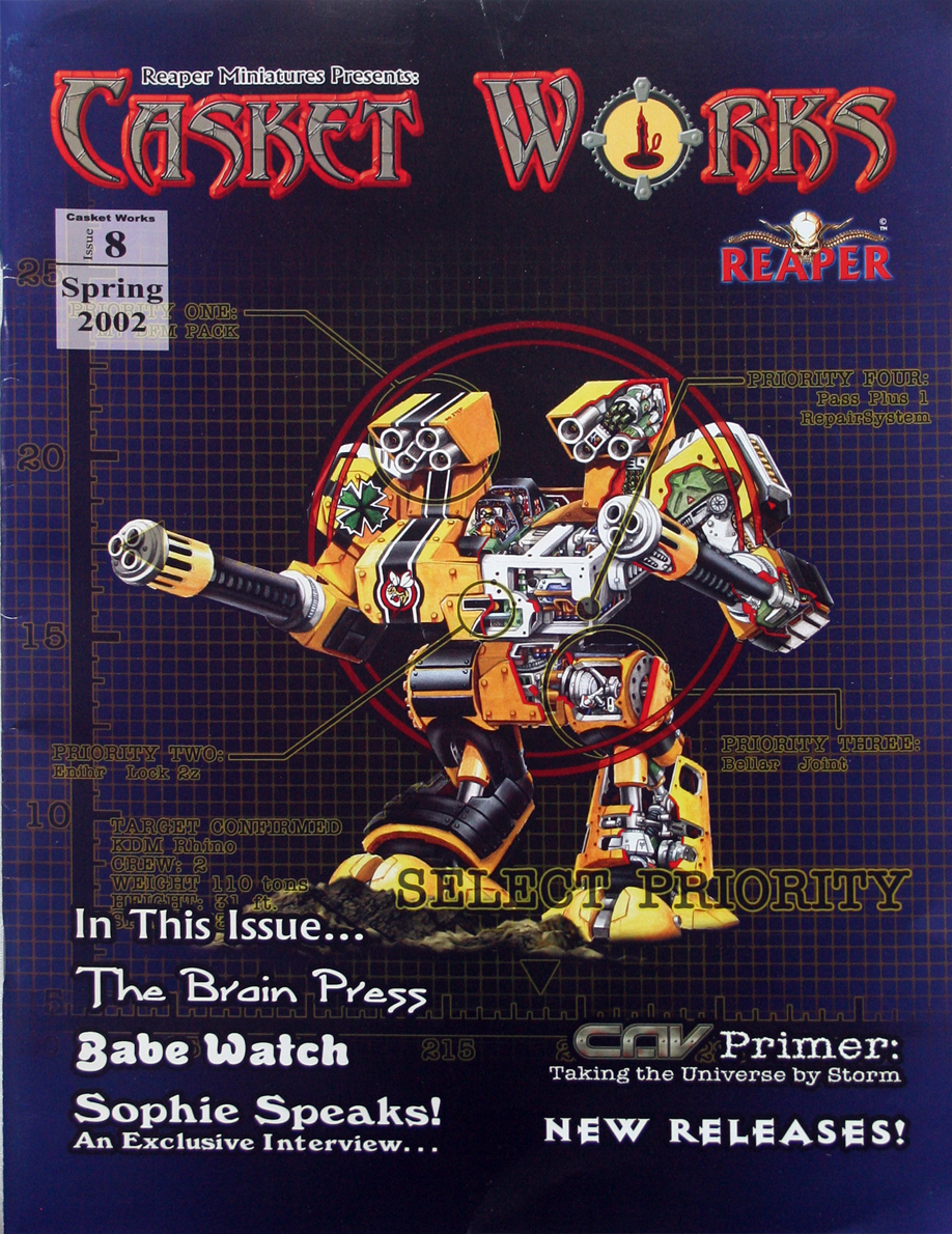2002 Casket Works REAPER Miniatures Catalog