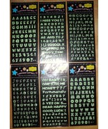 Luminous Letters Sheet - $0.00