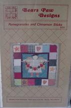 Pattern 9251 Pomegranates and Cinnamon Sticks - $5.00