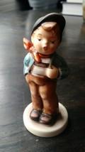 "Goebel Hummel Club Figurine No. 560 ""LUCKY FELLOW"" TMK-7  Exclusive Edition - $18.56"