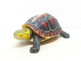 Kaiyodo Natural Monuments YELLOW MARGINED BOX TURTLE animal figure choco q - £11.33 GBP