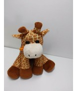 Poochie Co 10 Purse Plush Orange Sequin Giraffe Bag with Strap and pocket  - $18.61