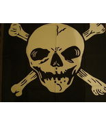 Skull & Crossbones Pirate Flag Wall Flags 3'  X 5' - $3.50
