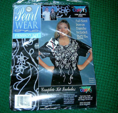 Primary image for Pearl Wear Fashion Kit No 92002 Full Color Craft