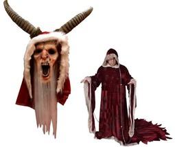 Halloween Christmas Michael Dougherty's Krampus Deluxe Costume & Latex M... - $189.99