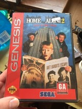 Home Alone 2 Lost in new york Sega genesis CIB complete - $19.34