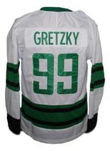 Wayne Gretzky #99 Hespeller Minor Olympics Hockey Jersey New White Any Size image 4