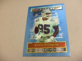1994 Topps Finest #35 Kevin Williams -Dallas Cowboys- - $3.12