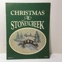 Christmas at Stoney Creek Stoney Creek Cross Stitch Pattern Book #5 - $9.74