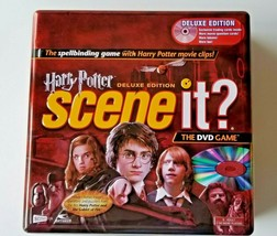 Harry Potter Scene It Interactive DVD Game Deluxe Edition 2005 Collector... - $17.09