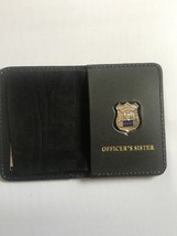 Police Officer  Sister  Generic Mini Shield  Leather ID Wallet - 2018 - $23.76