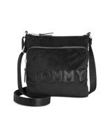 Tommy Hilfiger Tommy Velvet North/South Crossbody, Black $88 - $40.37