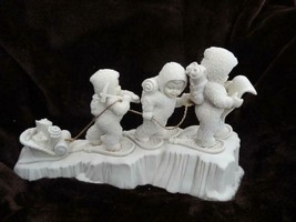 """Dept 56 Snowbabies Limited Edition 1996 """"Climb Every Mountain"""" 6881-6 - $98.95"""