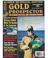 Gold Prospector January/February 1999 (Alaska '99 Expedition) Magazine, ... - $4.99