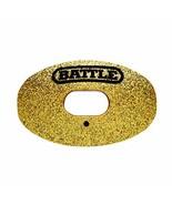 Battle Sports Science Oxygen Glitter Gold Football Mouthguard Gold/Black OS - $18.50