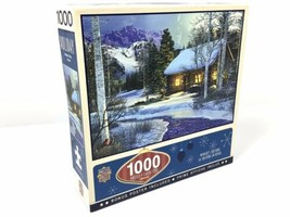 NEW MasterPieces Winter's Solitude 1000 Piece Jigsaw Puzzle - Randy Earles - $18.95