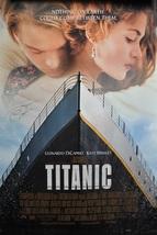 "LEONARDO DiCAPRIO Signed Movie Poster - TITANIC  27""x 40"" w/coa - $459.00"