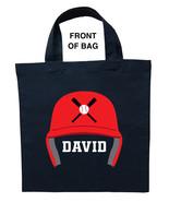 Baseball Trick or Treat Bag, Personalized Baseball Halloween Bag, Baseba... - $11.99+