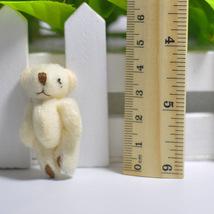 100Pc/Lot 4.5/6CM/7CM Mini Small Joint Teddy Bear Plush Toys,Cute Mini Joint Bea image 4