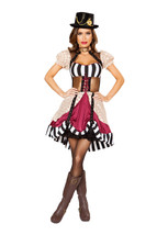 Sexy Roma Sassy Steampunk Fancy Dress Halloween Costume W/WO EXTRAS 10105 - $70.00+