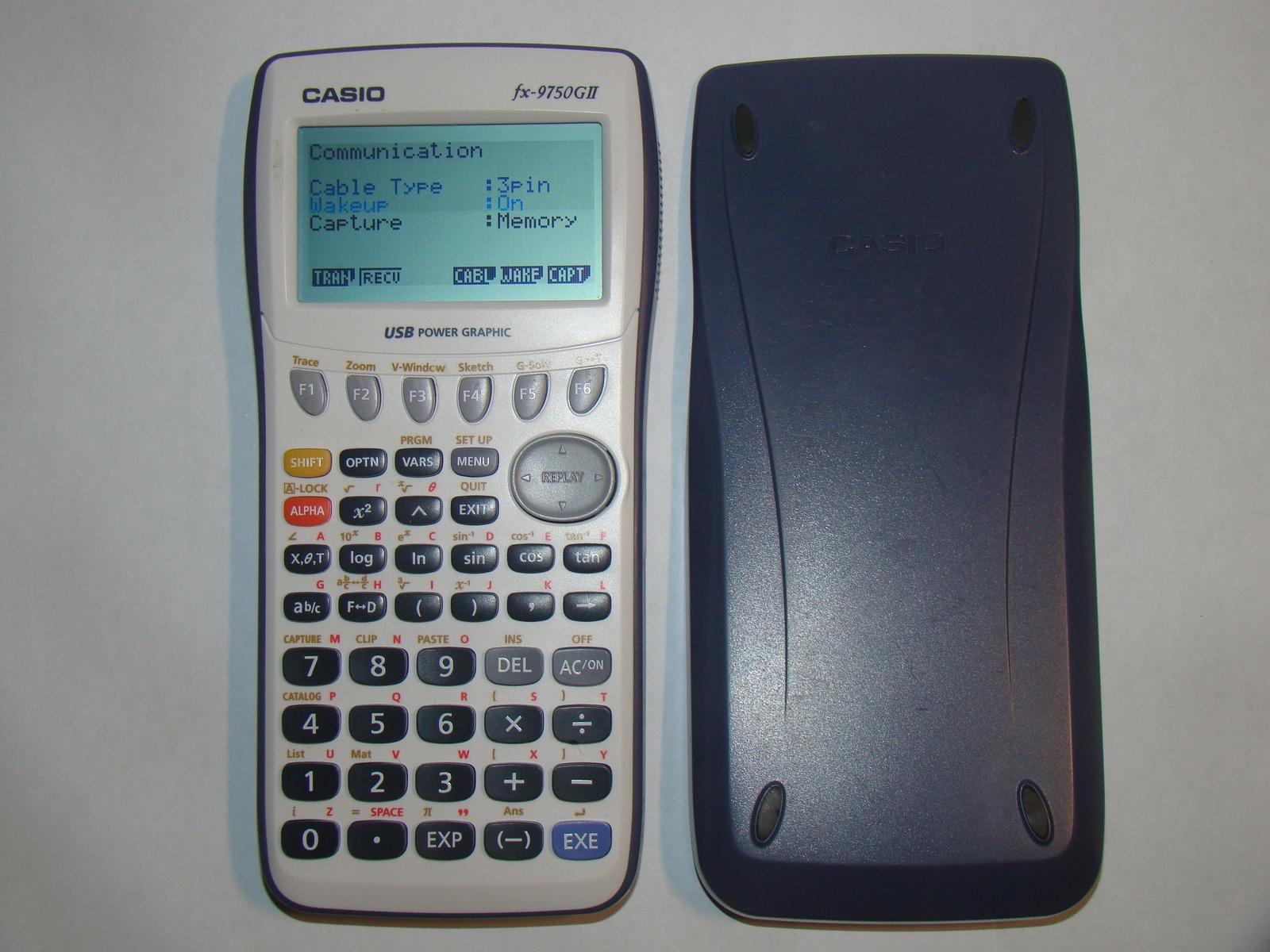 CASIO fx-9750GII - Graphing Calculator