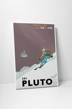 "Ski Pluto by Steve Thomas Gallery Wrapped Canvas 20""x30"" - $53.41"