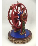 """Animated Musical """"Merry Christmas"""" Ferris Wheel LED Light Up Accent Song... - $8.84"""