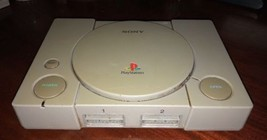 PLAYSTATION 1 CONSOLE - FOR PARTS OR REPAIR - SCPH-7501 free shipping - $24.00