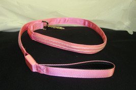 New Pink / Purple Double Led Light Up Pet Dog Safety Leash For Walking At Night - $4.99