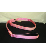 NEW PINK / PURPLE DOUBLE LED LIGHT UP PET DOG SAFETY LEASH FOR WALKING A... - $4.99