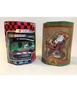 Ornaments 2 santa race car  1  45 thumbtall