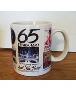 "1997  MGB ""65 Years Ago"" 3.75"" High Novelty Mug - $9.99"