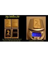 1oz. Last of the Pharaoh Cleopatra VII 100 Mills Gold Bullion Art Bar - $9.97