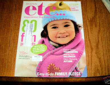 Primary image for Jo Ann etc Experience The Creativity Magazine Fall