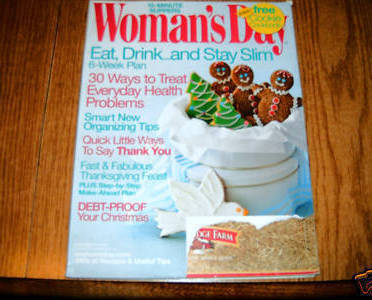 Primary image for Womans Day Magazine November 14 2006 Issue