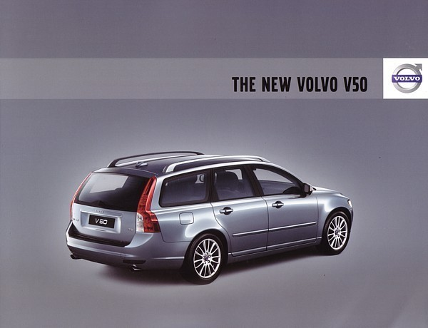 2008 Volvo V50 sales brochure catalog 08 US 2.4i T5