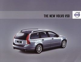 2008 Volvo V50 sales brochure catalog 08 US 2.4i T5 - $8.00