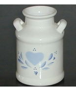 Lasting Products Hand Painted Ceramic Milk Can Vase - $8.00