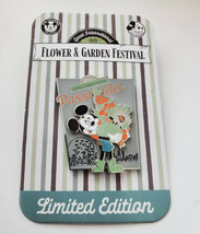 NWT 2020 Disney Epcot Flower & Garden Passholder Mickey Limited Edition Pin  - $17.81