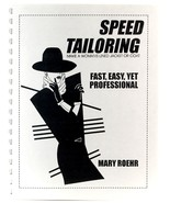 Speed Tailoring Mary Roehr Sewing Clothing Woman's Lined Jacket or Coat  - $5.00