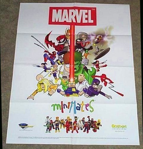 Marvel minimates cyclopsbeamcenter spiderman venom 2822
