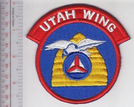 US Civil Air Patrol CAP Utah Wing US Air Force Auxiliary USAF AUX Shoulder Patch - $9.99