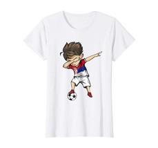 Sport Shirts - Dabbing Soccer Boy Serbia Jersey Shirt - Serbian Football Wowen - $19.95+