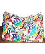Graphic Oversize Travel Bag - $16.00