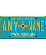 Custom Personalized New Mexico golf cart, mobility scooter license plate - $12.99