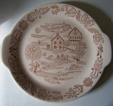 Royal China Inc Bucks county 11 inch platter made in U - $16.99